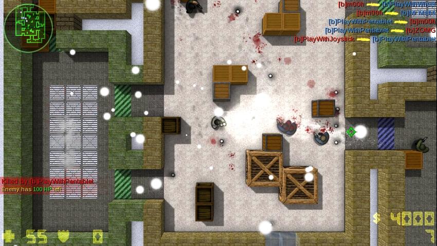 بازی انلاین Counter-Strike 2D